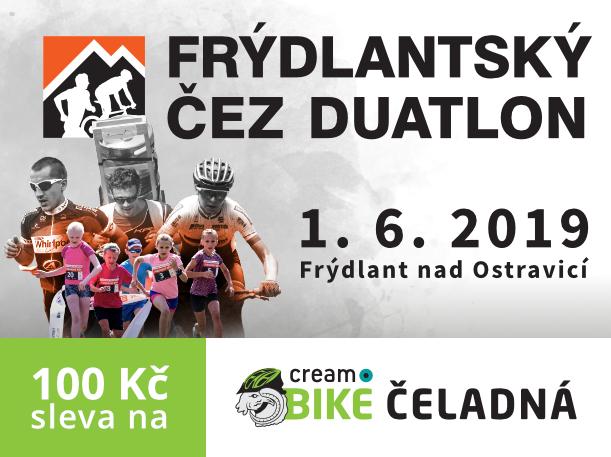 Sleva na CREAM Bike Čeladná 24.8.2019
